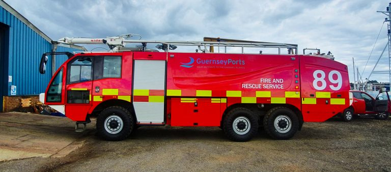 Fire Engine Wrap