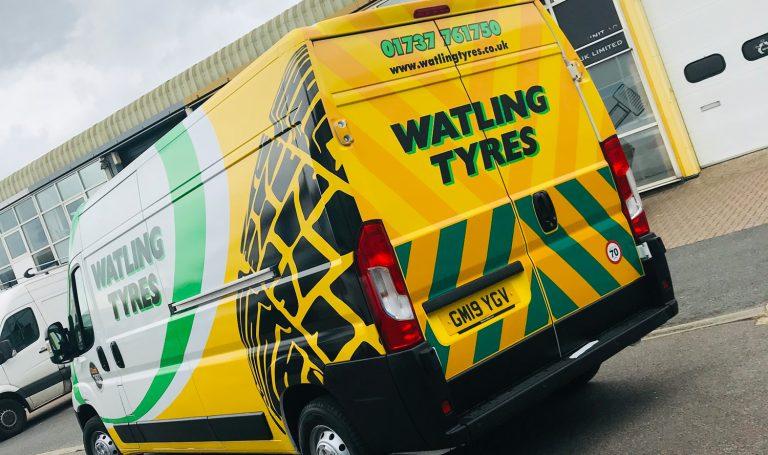 Watling Tyres Van Wraps